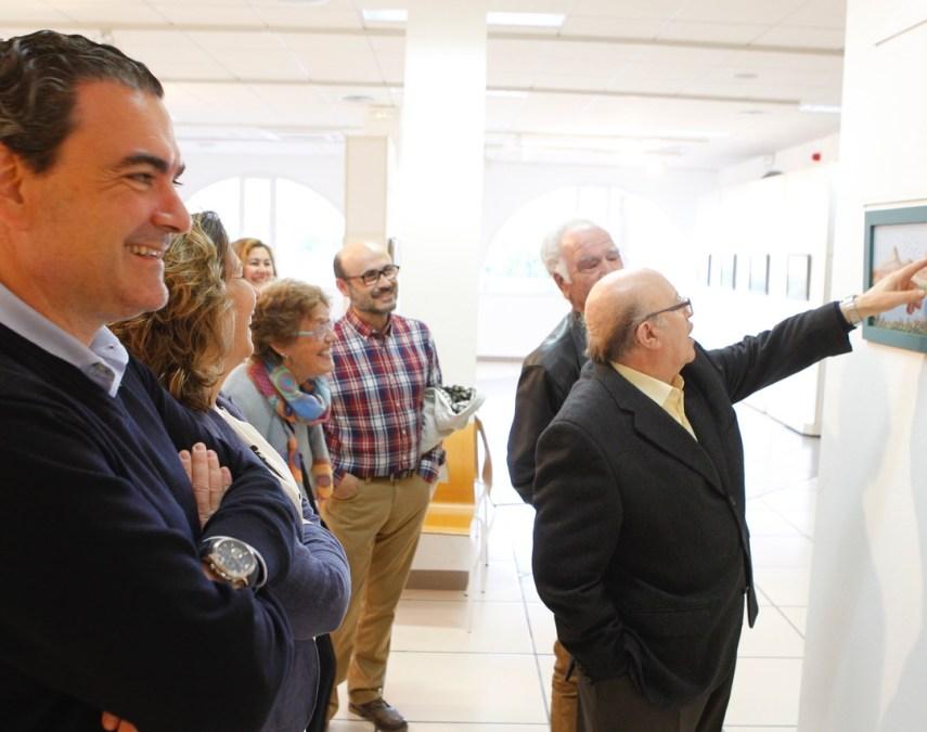 Enrique Ramírez expone en la Casa de Cultura de l'Alfàs su colección de paisajes imaginarios