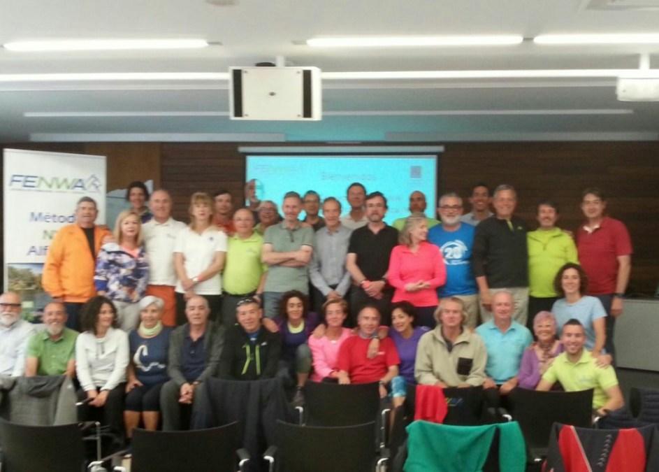 Éxito del primer congreso de Medical Nordic Walking celebrado dentro de la IX concentración .