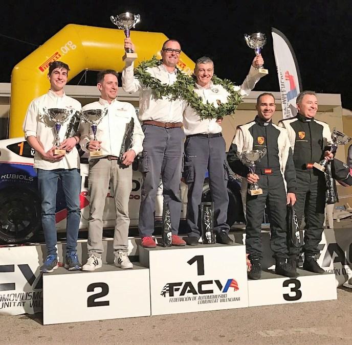Carlos Montero empieza la temporada de Rallyes de Regularidad en 2ª posición