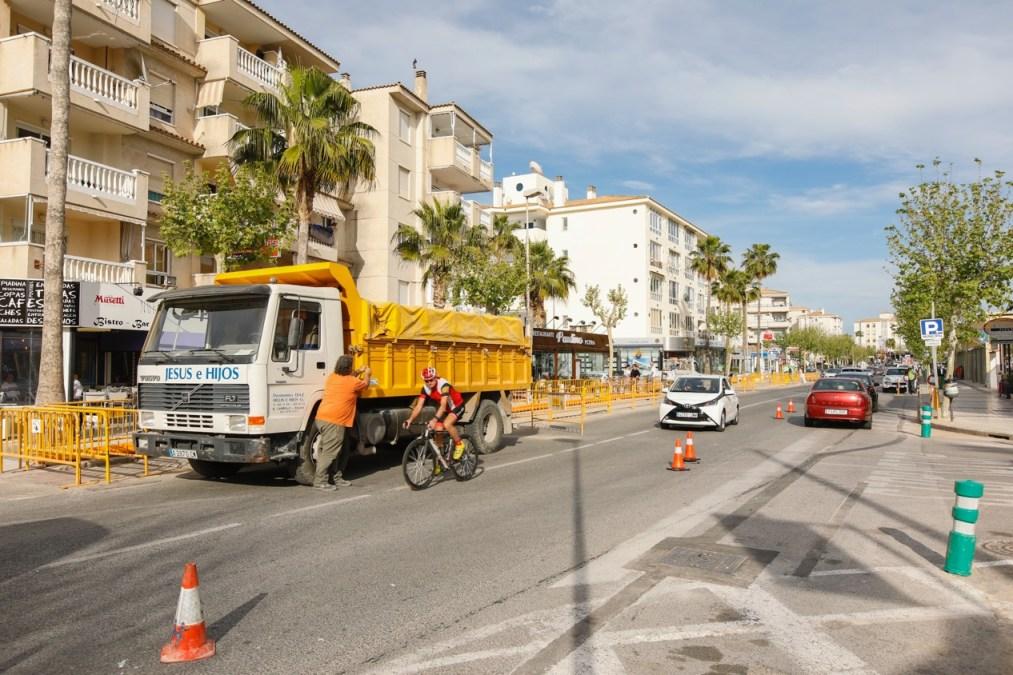 El suministro de gas natural llega a la playa de l'Albir