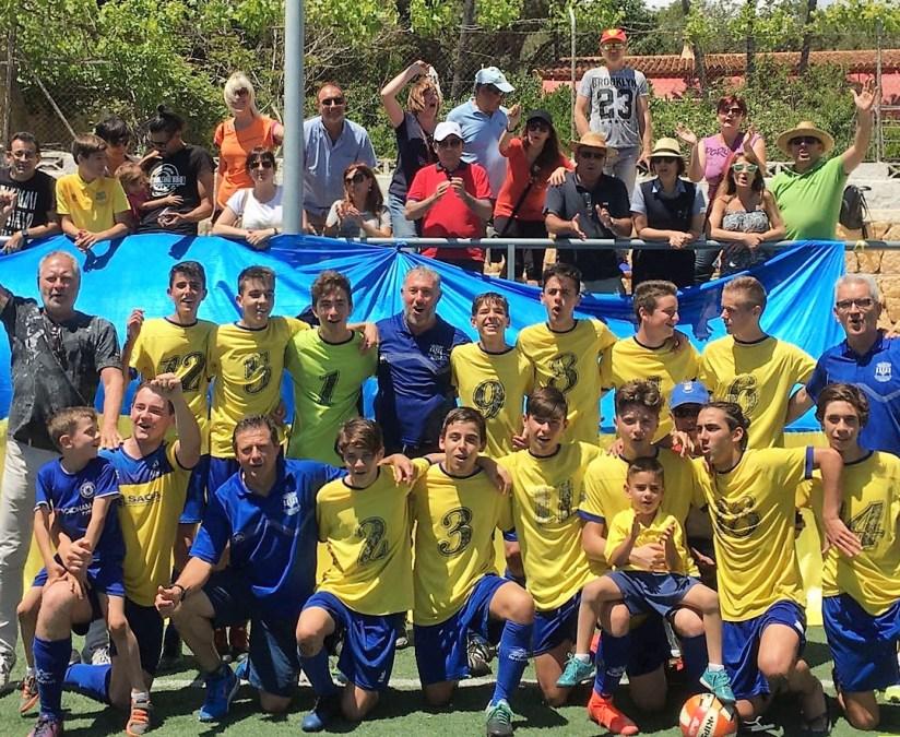 El equipo Cadete  A  de l'Alfàs del Pi gana la liga a falta de una jornada de la conclusión del campeonato.