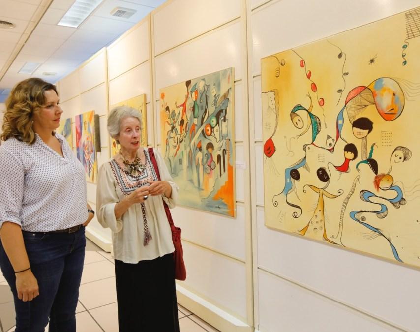 Concha Flores Vay expone 'Series' en la Casa de Cultura de l'Alfàs del Pi