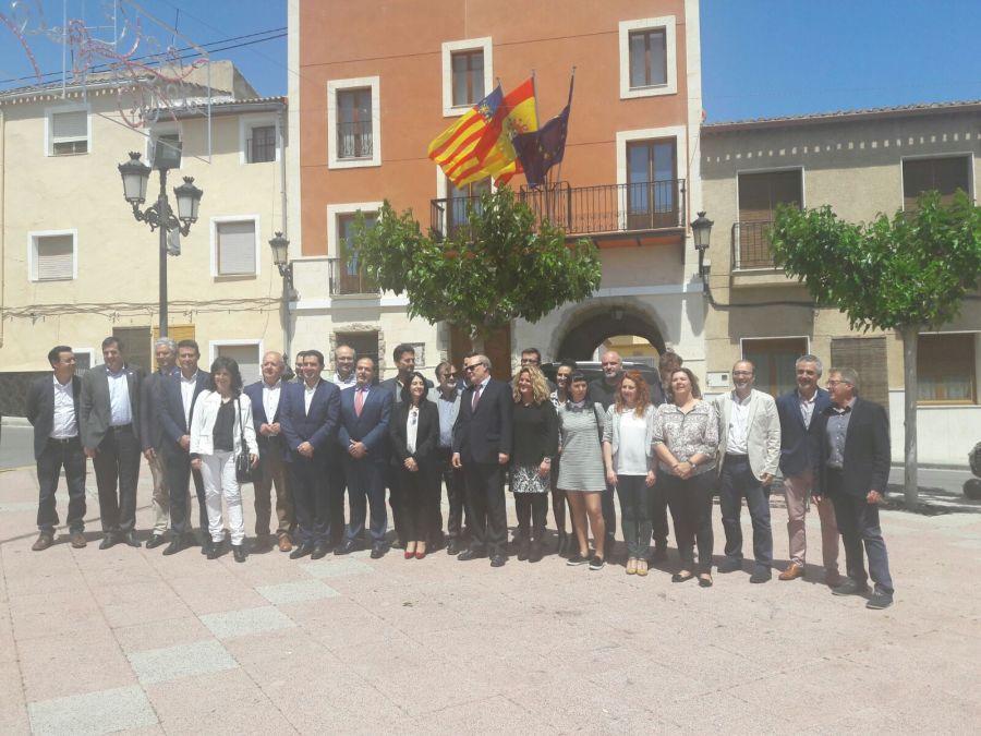 L'Alfàs del Pi ratifica, junto a otras once ciudades, el nacimiento oficial de la Xarxa Valenciana de Ciutats per la Innovació