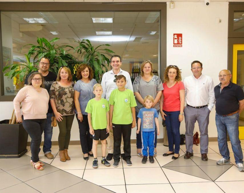 El alcalde de l'Alfàs se reúne con los nuevos mayorales de la Creueta