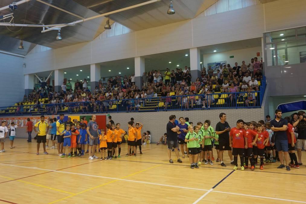 Finaliza con éxito de participación el IX torneo de Fútbol Sala Base