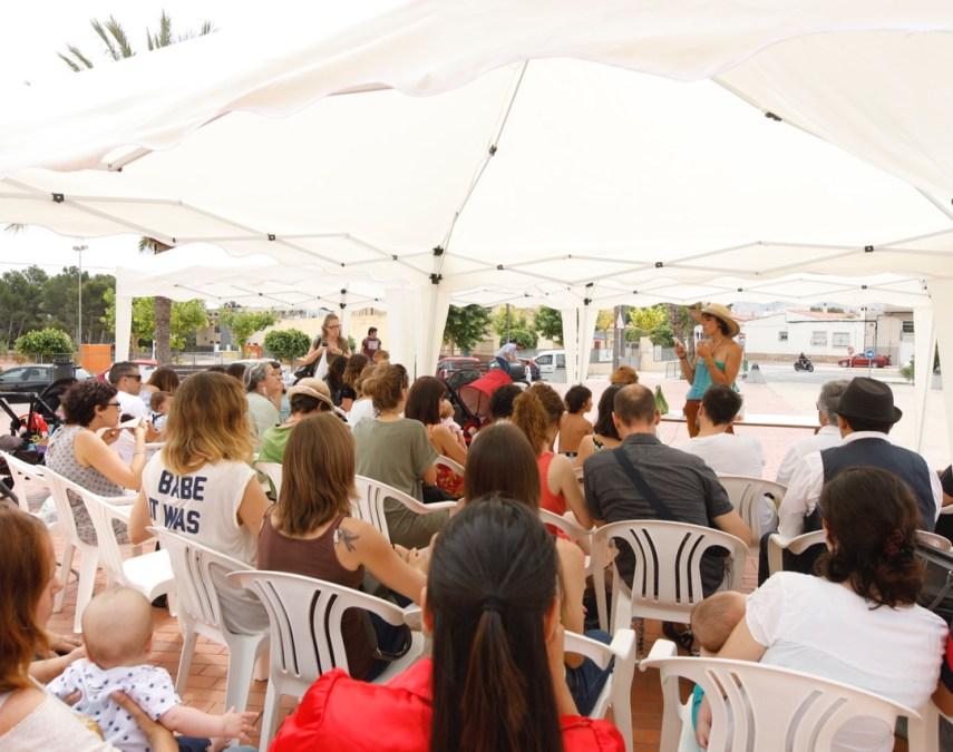 Yolanda González ofreció una charla sobre la crianza con apego en la Mostra de Productes de la Terra
