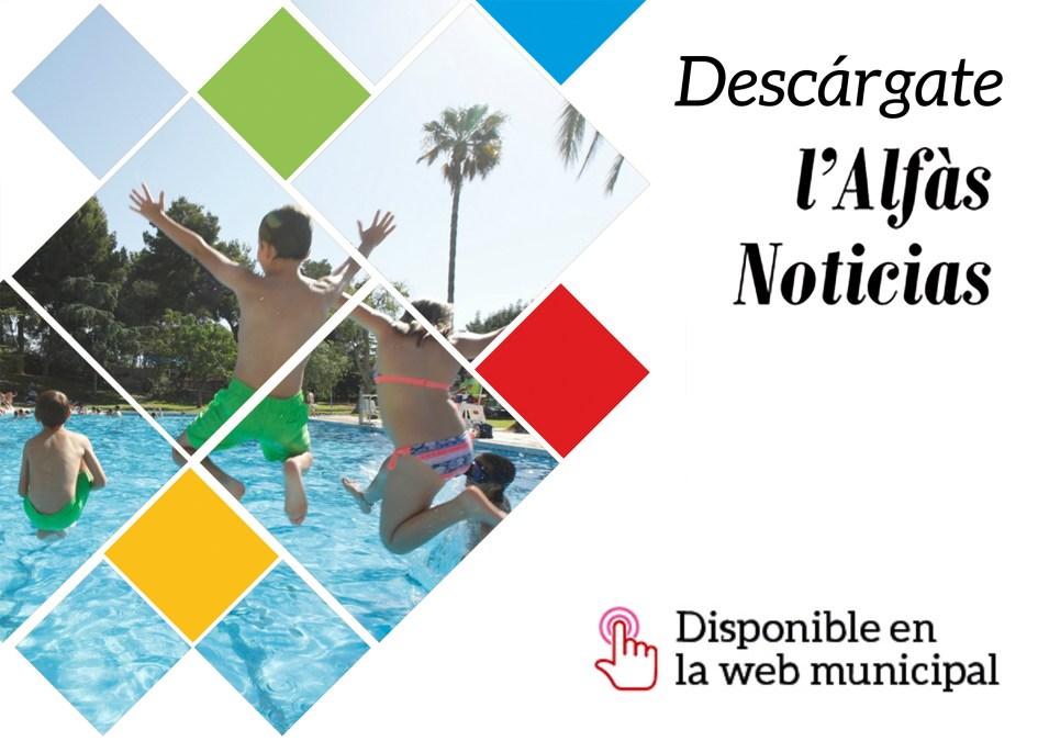Disponible el número 1 del boletín informativo L'Alfàs Noticias: toda la actualidad de l'Alfàs en formato multimedia