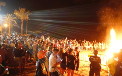 La Playa del Racó de l'Albir, centro de las festividades de San Juan