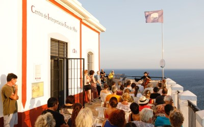 Multitudinario concierto de música de cámara en el Faro de l'Albir