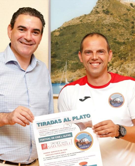 Los días 8 y 9 de julio  habrá concurso de tiro organizado por el Club de Tiro al Plato de l'Alfàs del Pi.