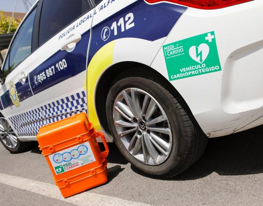 Un coche patrulla que salva vidas
