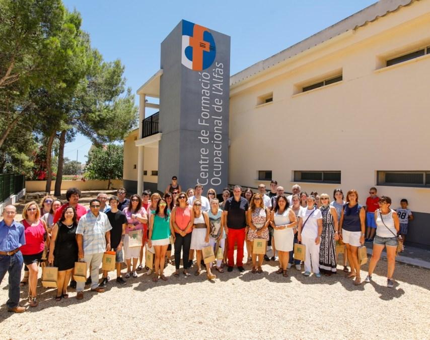 70 alfasinos obtienen el certificado de profesionalidad en el Centro de Formación Ocupacional