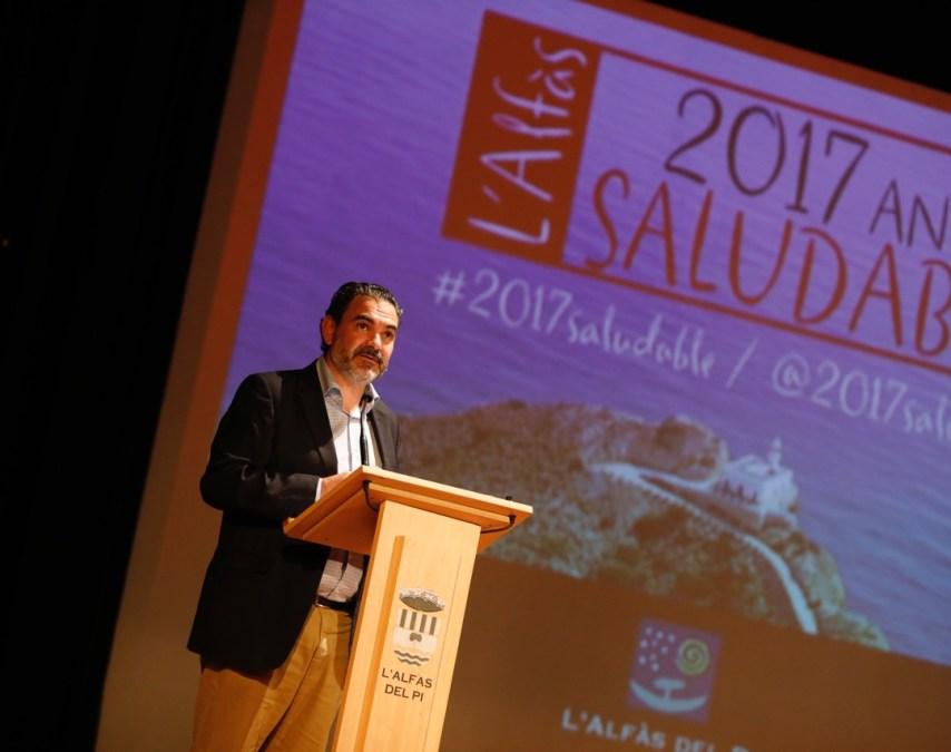 Vicente Arques presentando el año 2017 Saludable