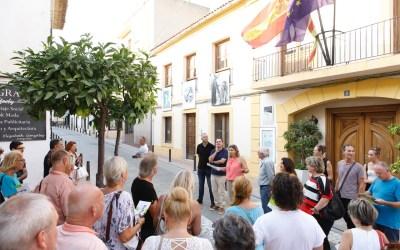Inaugurada la exposición itinerante alteana en el centro de l'Alfàs