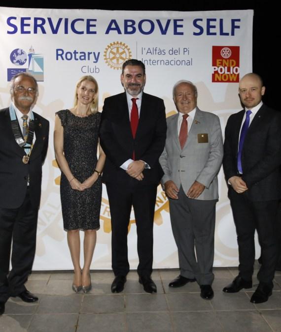 Nace el Rotary Club Internacional de l'Alfàs del Pi