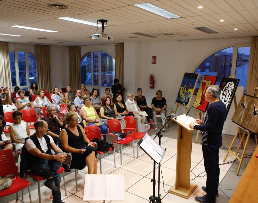 l'Alfàs del Pi celebra el Día de la Paz con un recital poético organizado por la comunidad uruguaya