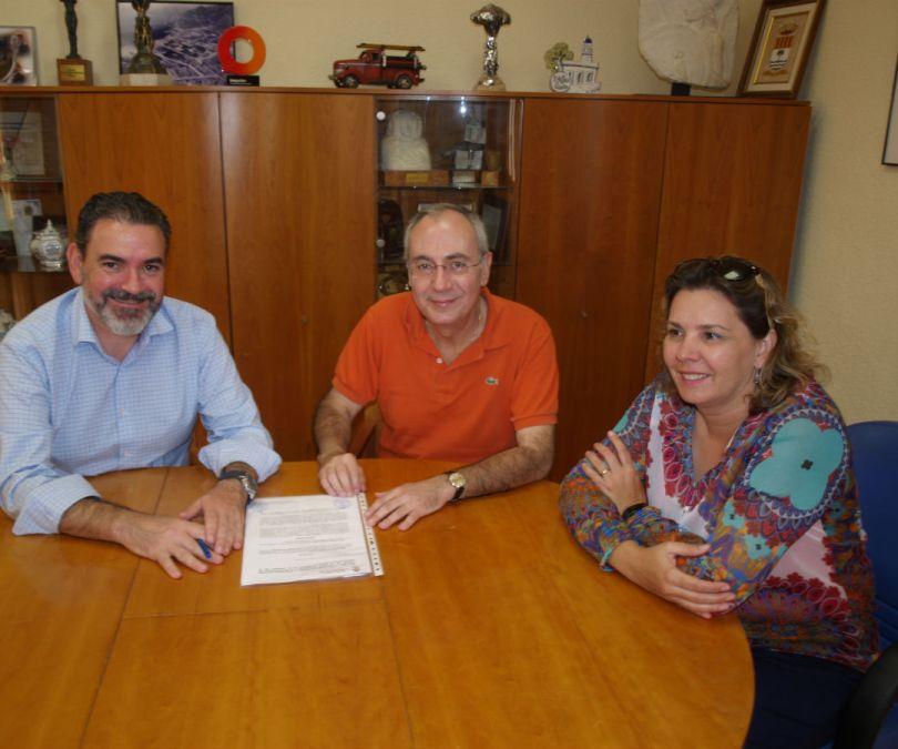 El Ayuntamiento de l'Alfàs del Pi y la Fundación Frax renuevan el convenio de colaboración