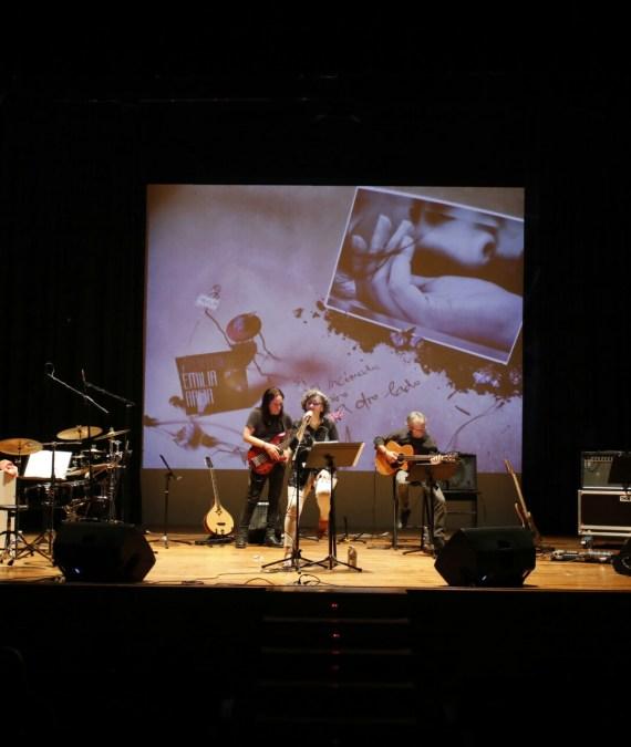 Emilia Arija presentó en l'Alfàs su nuevo disco 'Imperfecta'