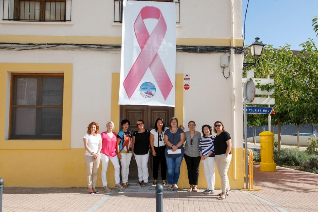 L'Alfàs se suma a los actos conmemorativos del Día Mundial del Cáncer de Mama