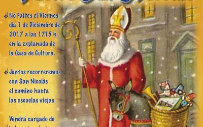 Un año más vuelve San Nicolás a l'Alfàs del Pi