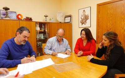 L'Alfàs impulsa el tejido empresarial local ampliando el convenio de colaboración con COEMPA