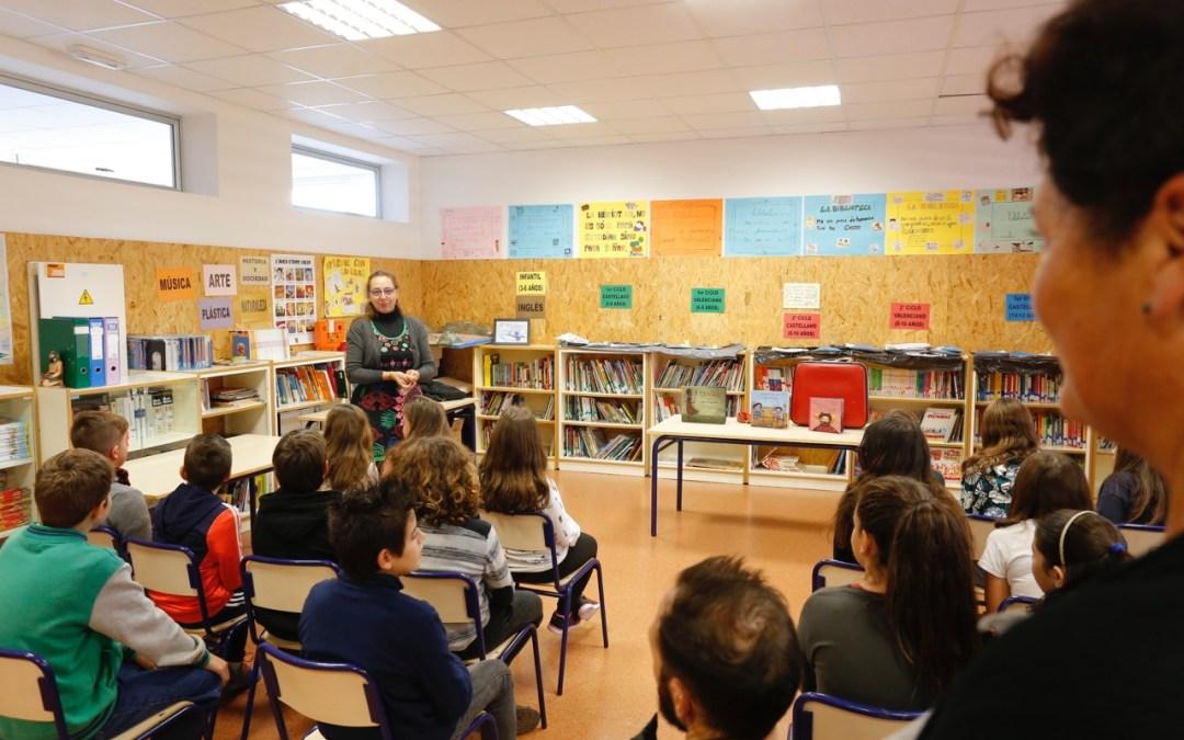 Más de 350 niños y niñas de Primaria abordan la igualdad de género a través de cuentacuentos