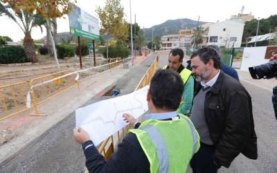 Las obras de renovación del Camí Vell del Far marchan a buen ritmo