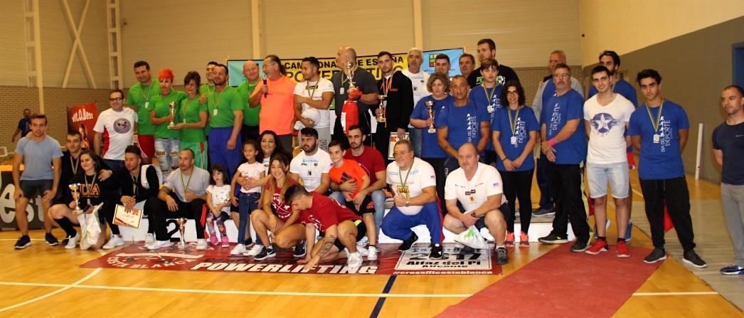 Los alzadores de la Marina Baixa baten nuevos records de España en el Campeonato de L'Alfàs del Pi
