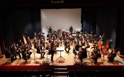 Más de 300 personas asisten al concierto de la Orquesta Filarmónica de la UA en l'Alfàs