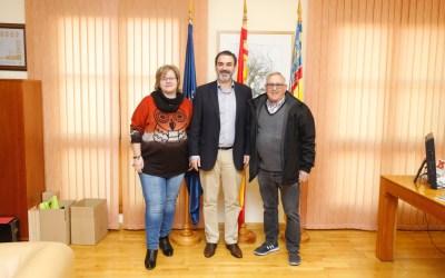 El Ayuntamiento de l'Alfàs renueva el convenio de colaboración con la asociación de jubilados de l'Albir