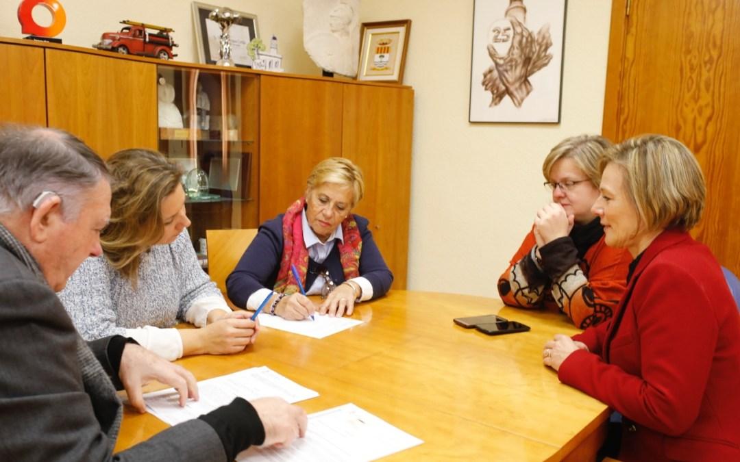 El Ayuntamiento de l'Alfàs renueva la colaboración con la Asociación de Uruguayos