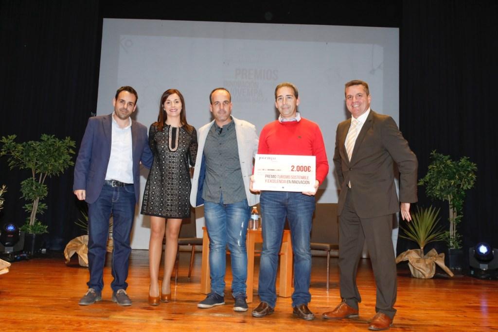 Premio Turismo Sostenible y Excelencia en Innovación a Gastroeventos la agenda de la Marina Baixa