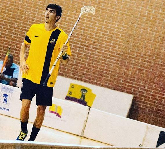 El alfasino Daniel Arazola, internacional con España, buscará el pase al Mundial de Praga de Floorball