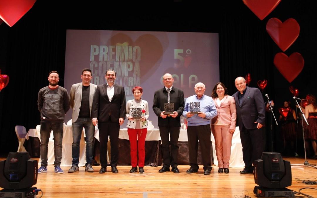 Cortinas Confort, El Depalero y Costa Blanca Booking,  Premios COEMPA a la Trayectoria Empresarial