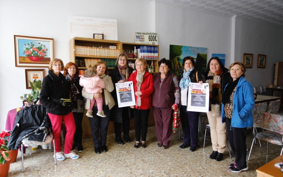Consumo lanza un taller de cocina en colaboración con las amas de casa