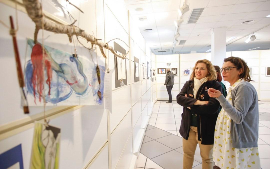 Eva Martínez expone en la casa de cultura de l'Alfàs