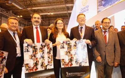 Ximo Puig muestra su apoyo al Festival de Cine de l'Alfàs