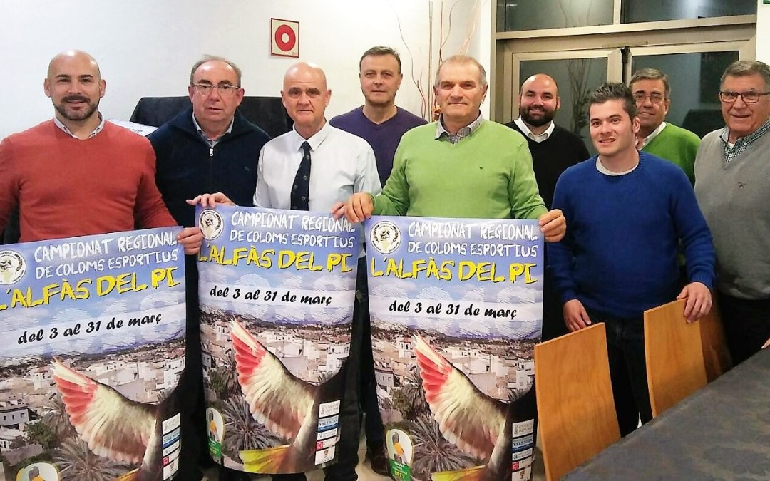 L'Alfàs del Pi alberga en marzo el campeonato regional de palomos deportivos.
