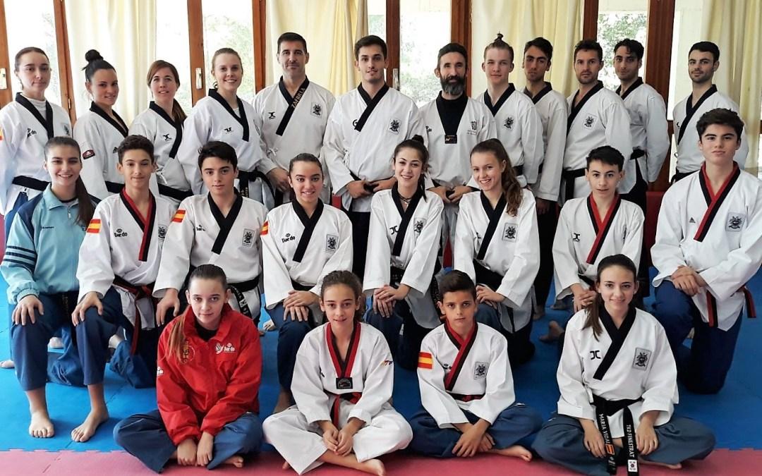 Cinco taekwondistas de l'Alfàs del Pi  representarán a la Comunidad Valenciana en el próximo Campeonato de España.