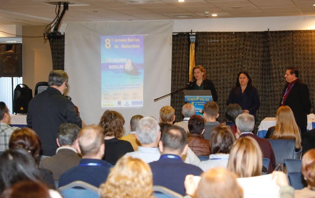 L'Alfàs del Pi ha acogido las octavas Jornadas Espíritas del Mediterráneo