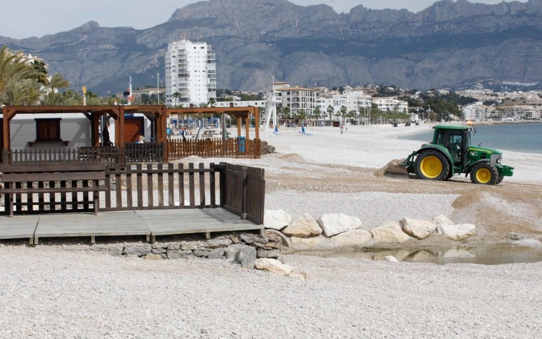 El Ayuntamiento de l'Alfàs acomete la puesta a punto de l'Albir para Semana Santa