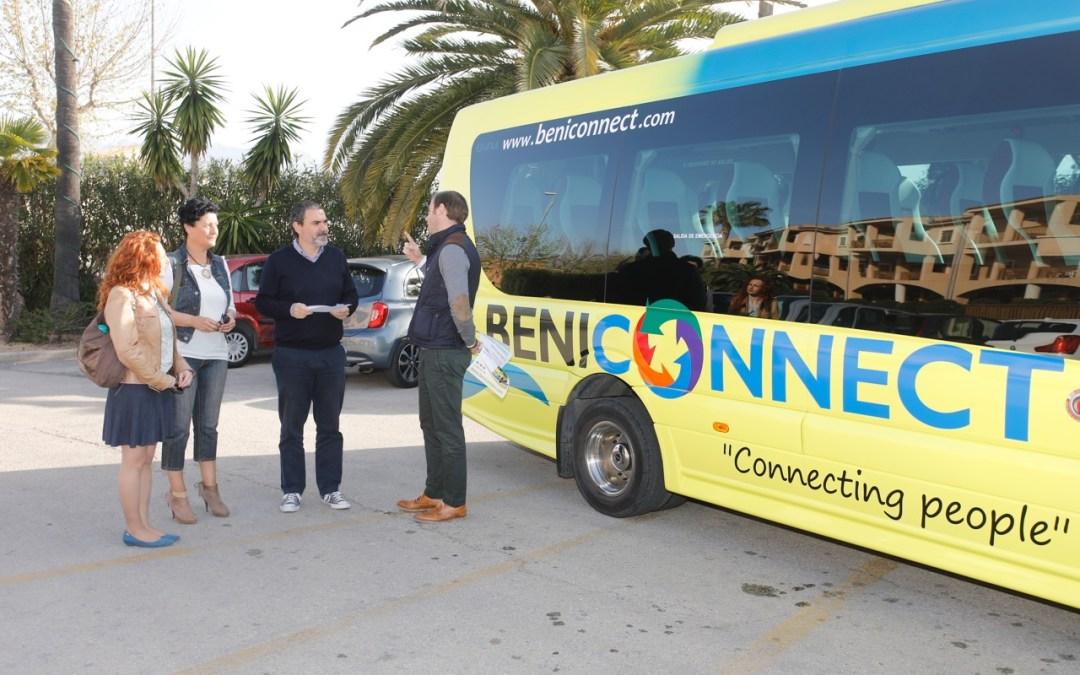 En marcha servicio directo entre la estación de Renfe y la playa de l'Albir