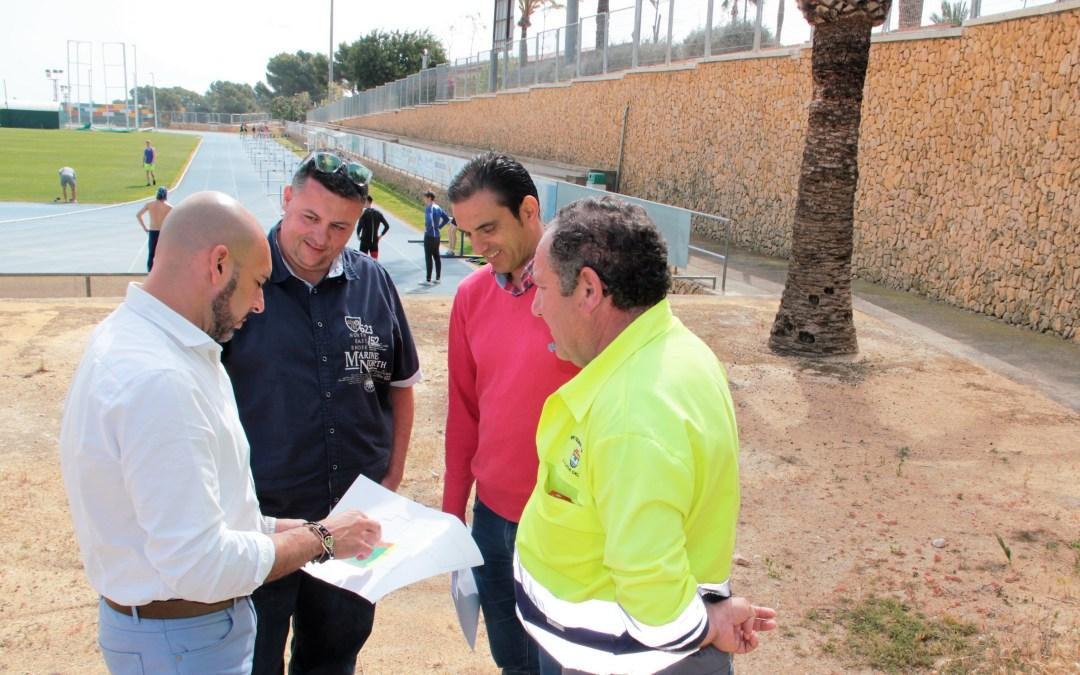 El polideportivo de l'Alfàs del Pi tendrá una parque de calistenia.
