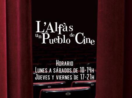 La exposición 'L'Alfàs, un poble de cine' puede visitarse hasta septiembre en Les Escoles Velles