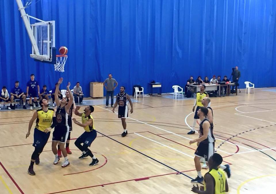 La victoria del Parc Natural Serra Gelada de basket ante el Servigroup de Benidorm los sitúa a un paso de la fase de ascenso a LEB plata .