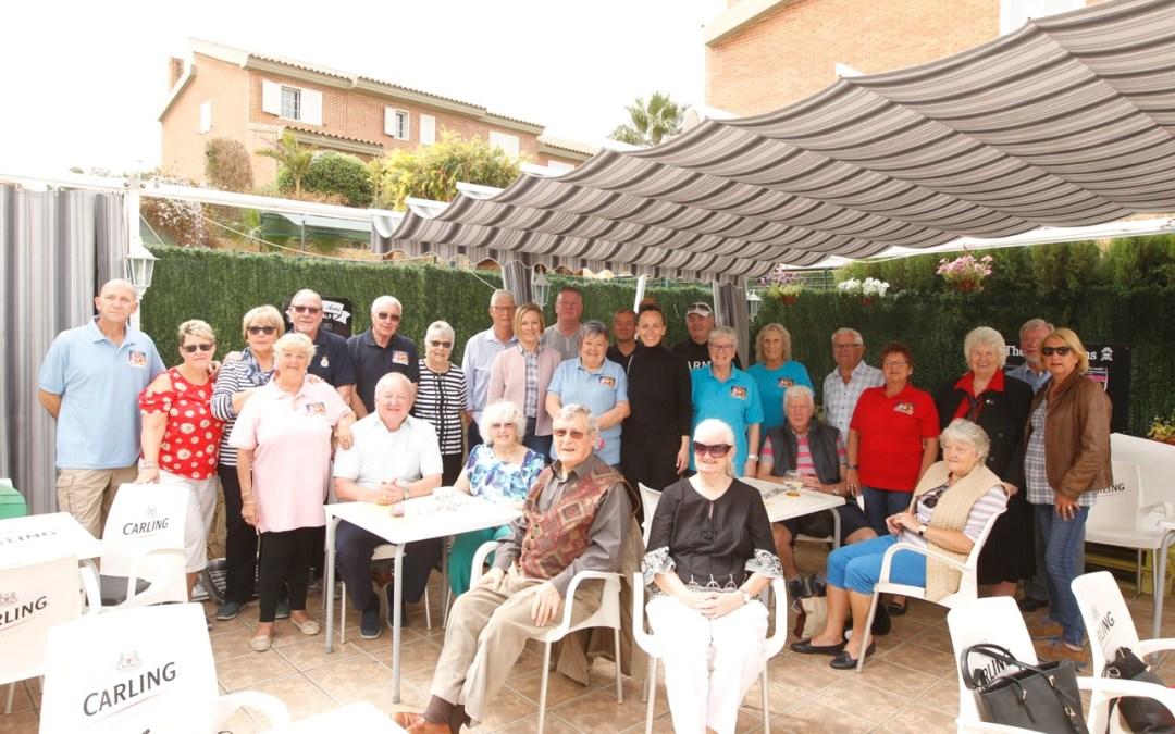 El Club Británico de los Desayunos celebra su primer aniversario en l'Alfàs