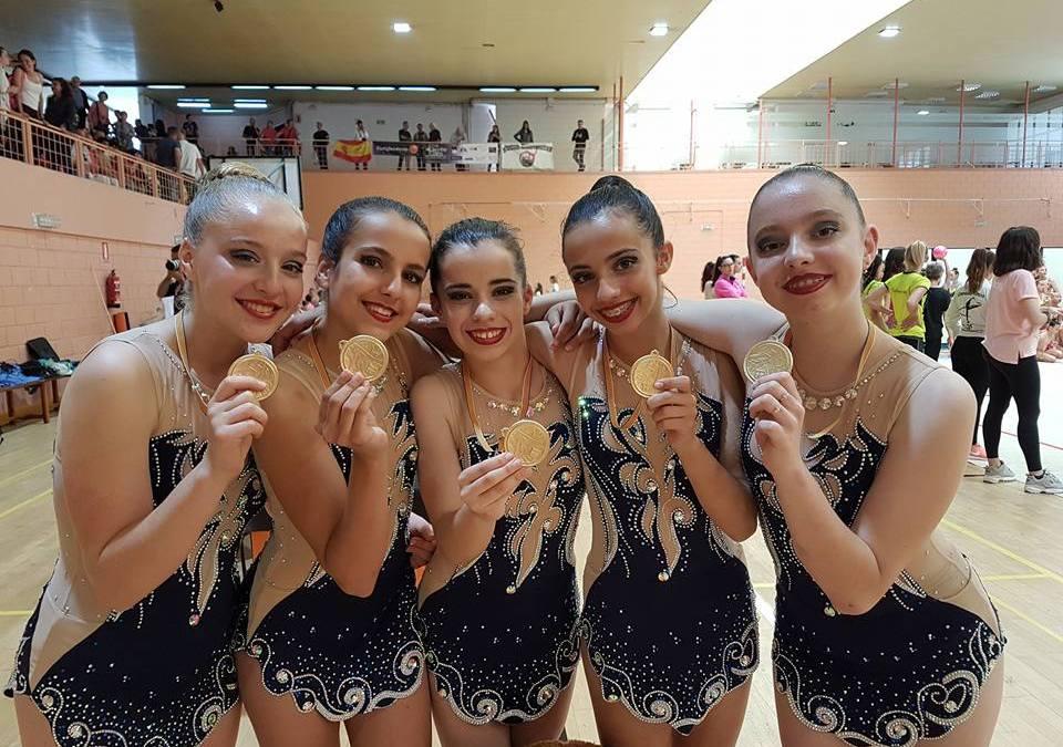 El Conjunto juvenil del CGR Primavera de l'Alfàs del Pi se proclama campeón Provincial.
