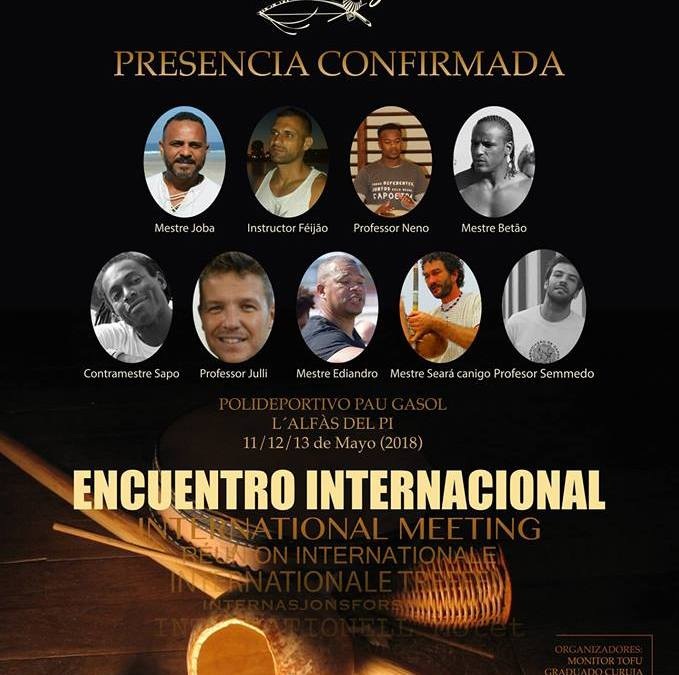 Este fin de semana se celebra el  6º encuentro Internacional de Capoeira en l'Alfàs del Pi.