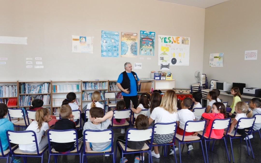 Blai Senabre participa en la Campaña Municipal de Animación Lectora