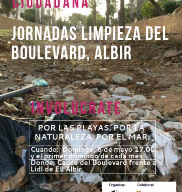 Este domingo se celebran las I Jornadas de Limpieza del Boulevar de l'Albir